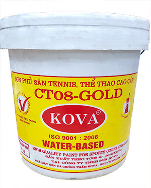 Sơn KOVA  CT08 - GOLD