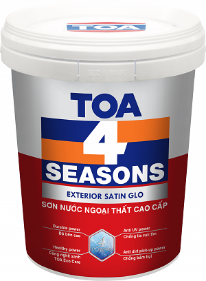 TOA 4 SEASONS SATIN GLO
