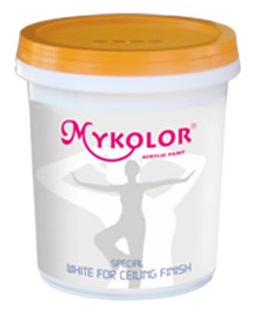MYKOLOR SPECIAL WHITE FOR CEILING FINISH - SƠN SIÊU TRẮNG