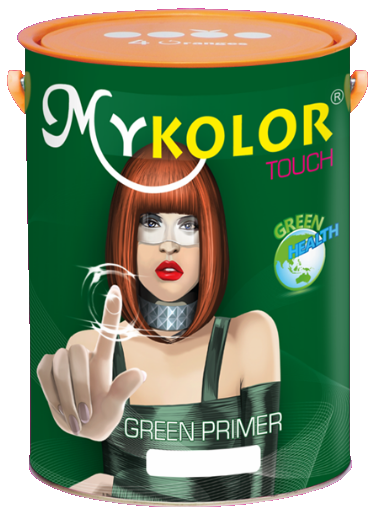 MYKOLOR TOUCH GREEN PRIMER FOR INTERIOR - SƠN LÓT SINH HỌC NỘI THẤT